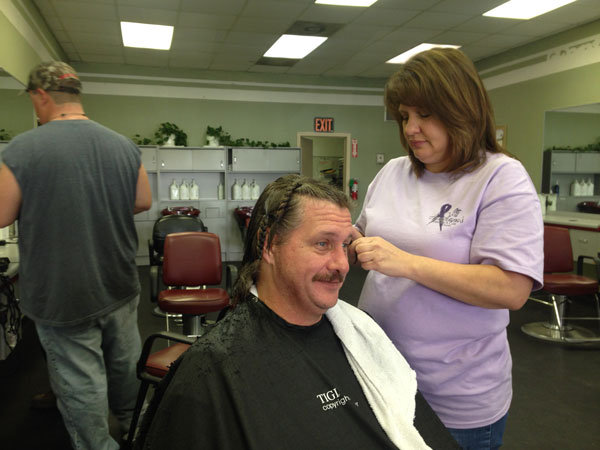 Fantastic Sam's – Cuts for a Cure sponsored by Fantastic Sam's.  Proceeds donated to  AHC.