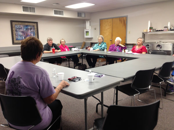 Guest Speakers at Women's Cancer Support Group