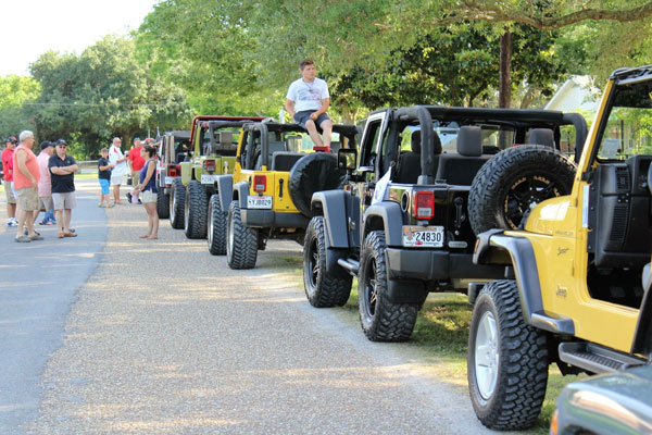 Jeep Run Line Up